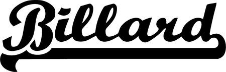 billard: Billard Word