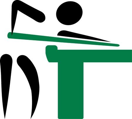 billiards: Billiards Pictogram