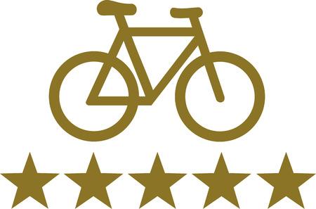 picto: Bike Deluxe Five Stars