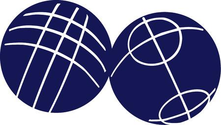balón: Bolas de petanca