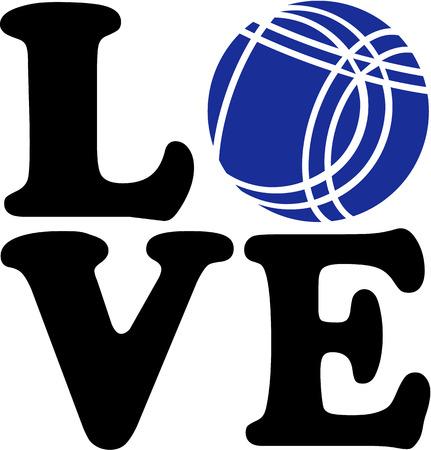 chrome ball: Bocce Boule Love