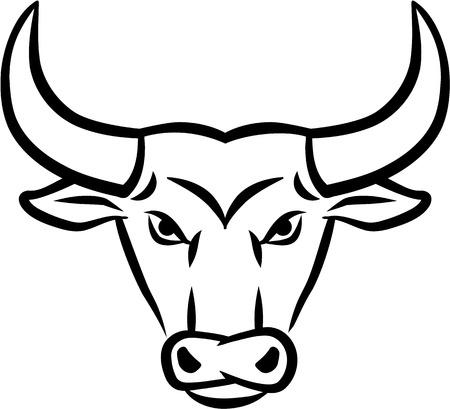 toro arrabbiato: Angry Bull Testa