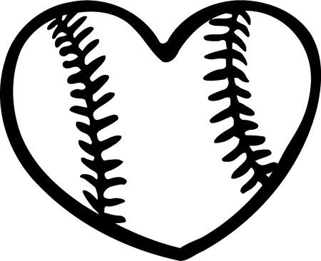 baseball: Corazón Béisbol