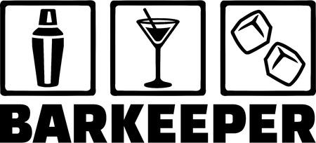 tripple: Bartender Barman Barkeeper Tripple