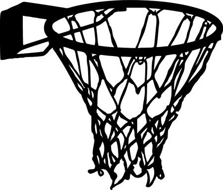 basketball net: Baloncesto Canasta Detalles del vector