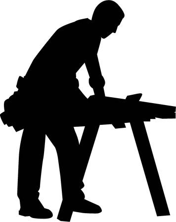 Carpenter Person illustration