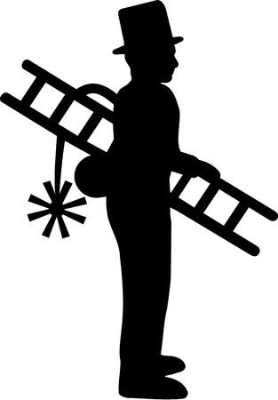 sweeper: Chimney Sweeper Illustration