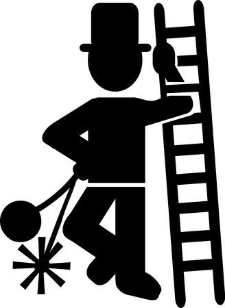 Chimney Sweep Icon