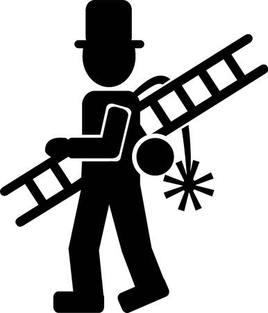 spazzatrice: Chimney Sweeper Icona