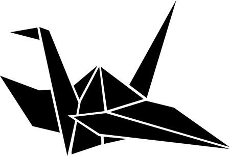 crane bird: Crane Origami