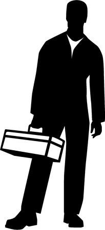 Craftsman Workman Ilustrace