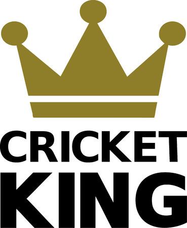 cricketer: Cricket King Illustration