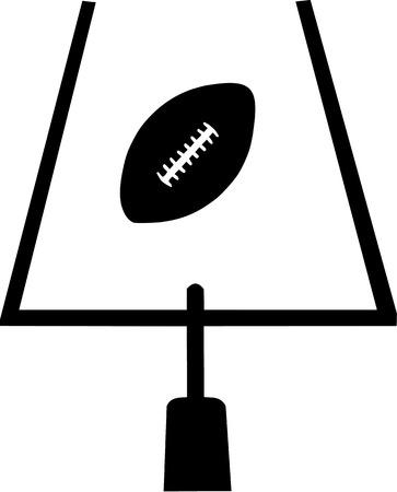 field goal: Field goal with american football