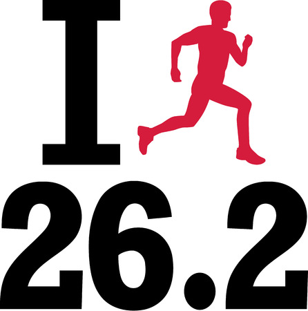 I love 26.2 marathon