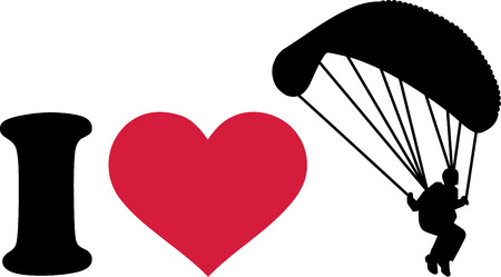 skydiver: I love skydiver