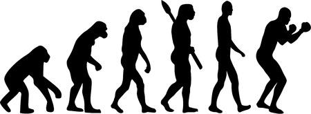 ancestors: Boxing Evolution Illustration