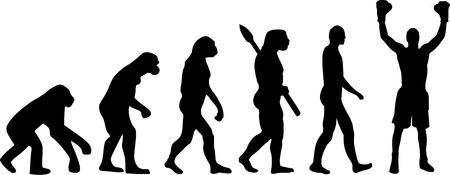 ancestors: Boxer Evolution Champion Illustration