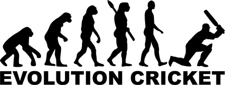 darwin: Cricket Evolution Illustration