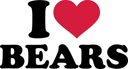 head i: I love bears