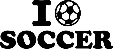 I love Soccer Çizim