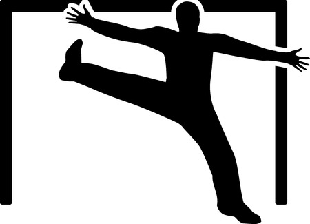 arquero de futbol: Balonmano Portero