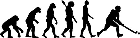 hockey sobre cesped: Hockey sobre hierba Evolución Vectores