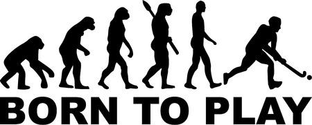hockey players: Field Hockey Evolution