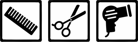 haircutter: Hairdresser Icons