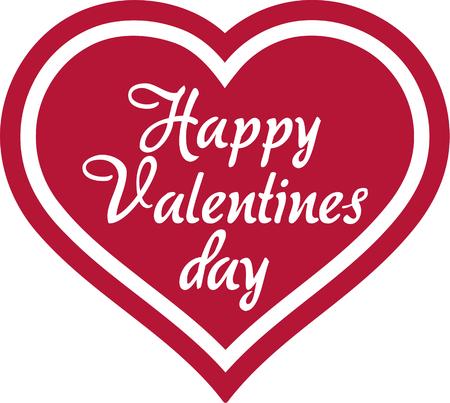 happy valentines day: Happy Valentines Day Heart