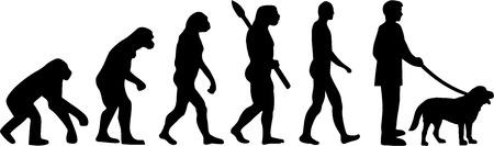 Dueño del perro Evolución