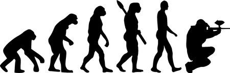 paintball: Paintball Evolution Illustration