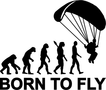 skydiving: Skydiving Evolution Born to fly