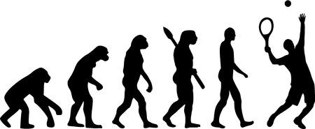 Tenis Evolución
