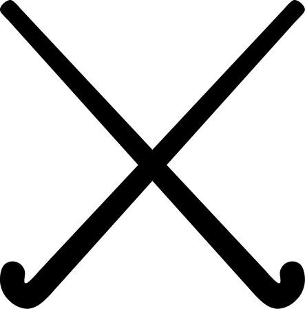 Hockey Sticks Stockfoto - 40898319