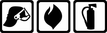 firefighter: Firefighter Pictogram