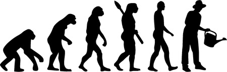 human evolution: Gardening Gardener Evolution