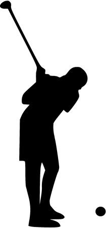 putter: Golf Player Tee