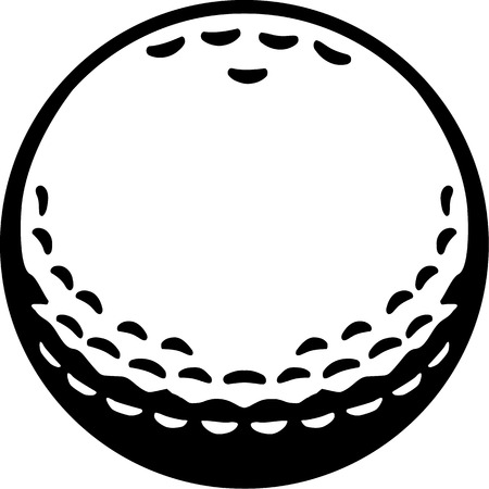 golf ball: Real Golf Ball