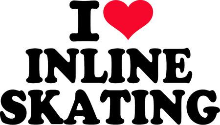 inline skating: I love inline skating