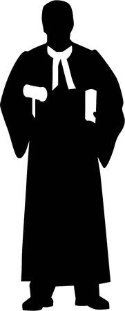 Judge Silhouette