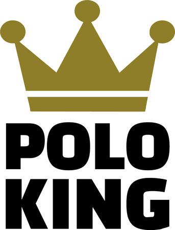 Polo king Vector