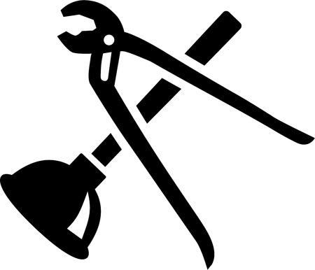 Plumber Tools Vetores