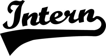 intern: Trainee Intern Student