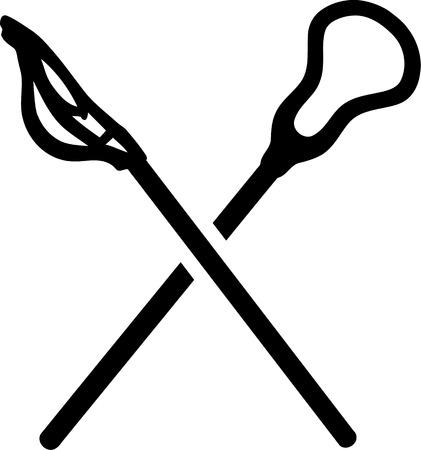 crosse: Lacrosse Sticks Icon