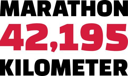 chilometro: Maratona 42,195 Chilometro