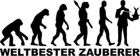 ancestors: Worlds Best Magician Evolution Illustration