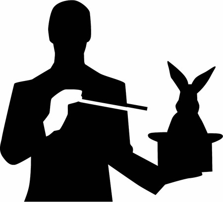 Magician with Rabbit Hat