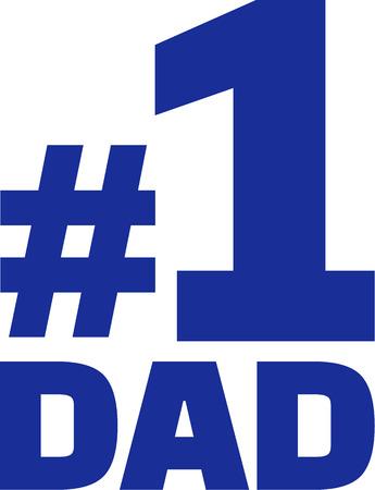 numero uno: Papá del número uno