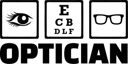 optician: Optician Icons Eye