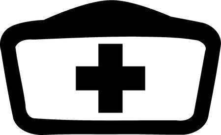 enfermera con cofia: Enfermera Cap